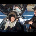 戦闘機に乗ってみたい。。。えげつない?